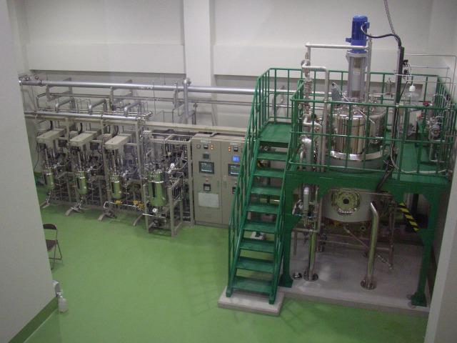 培養装置及び周辺機器導入時